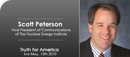 Vice President of Communications of The Nuclear Energy Institute, Scott Peterson